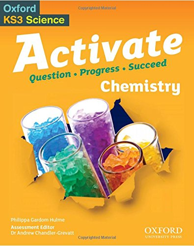 Activate Chemistry Student Book By Philippa Gardom-Hulme
