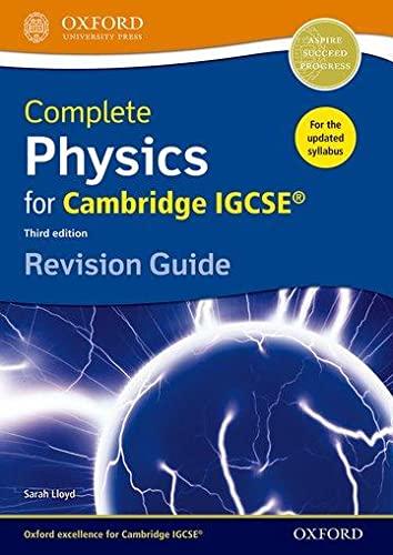 Complete Physics for Cambridge IGCSE (R) Revision Guide von Sarah Lloyd