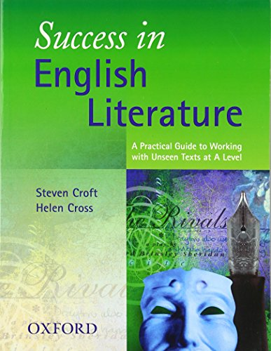 Success in English Literature By Steven Croft