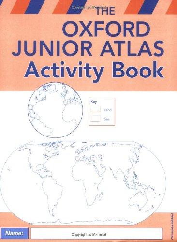Oxford Junior Atlas Activity Book By Patrick Wiegand