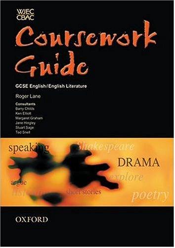 WJEC/CBAC GCSE English/English Literature By Roger Lane