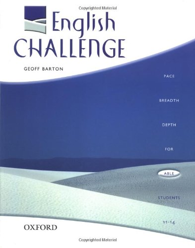 English Challenge By Geoff Barton