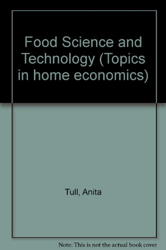Food Science and Technology By Anita Tull