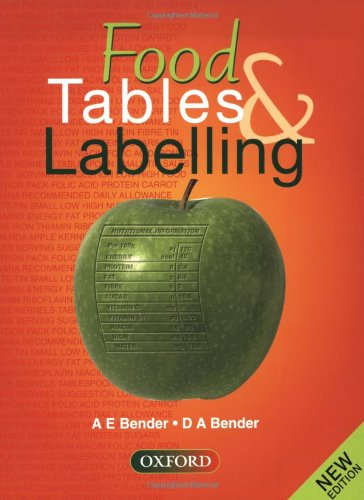 Food Tables and Labelling By Arnold E. Bender