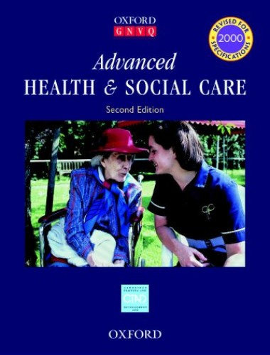 Advanced Health and Social Care By Cambridge Training & Development