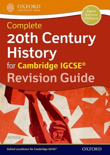 20th Century History for Cambridge IGCSE (R) By Ray Ennion