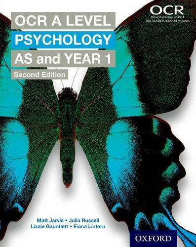 OCR A Level Psychology: AS and Year 1 by Matt Jarvis