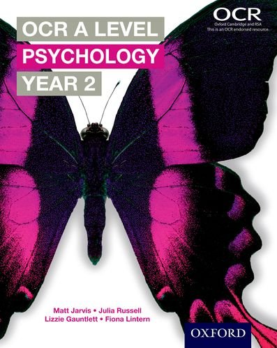 OCR A Level Psychology Year 2 By Matt Jarvis