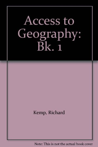 Access to Geography By Richard Kemp