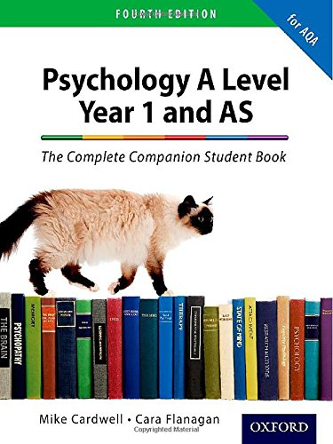 The Complete Companions: AQA Psychology Year 1 and AS Student Book by Mike Cardwell