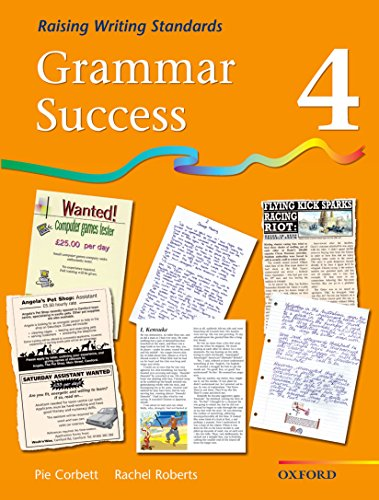 Grammar Success: Level 4: Pupil's Book 4 By Pie Corbett