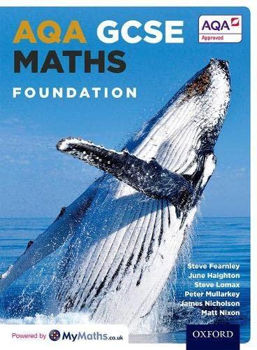 AQA GCSE Maths: Foundation By Stephen Fearnley