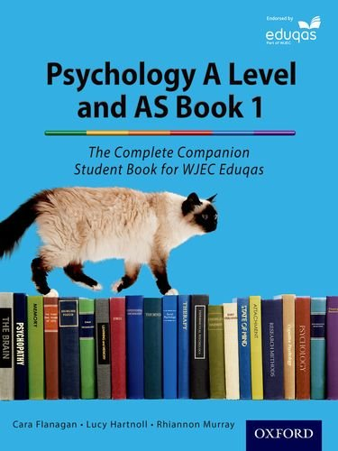 Complete Companions for Eduqas Year 1 and AS Psychology Student Book By Cara Flanagan