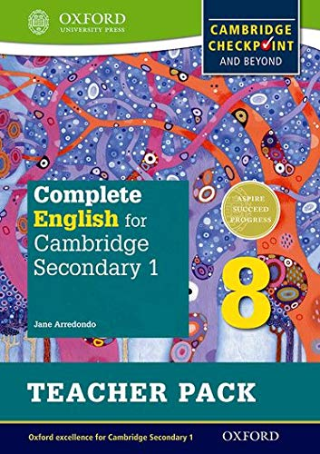 Complete English for Cambridge Lower Secondary Teacher Pack 8 By Jane Arredondo