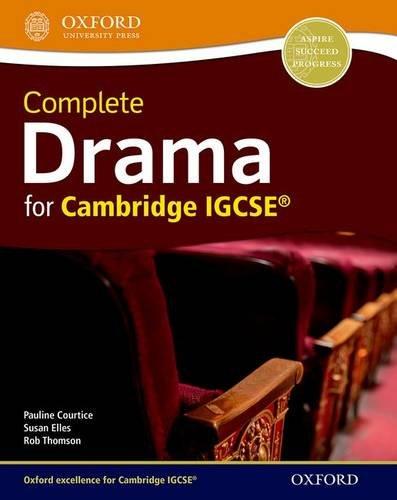 Complete Drama for Cambridge IGCSE von Pauline Courtice