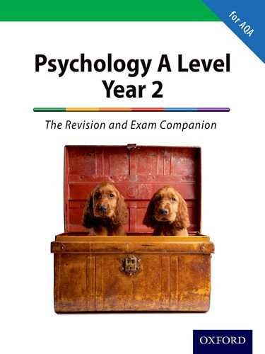 The Complete Companions: A Level Year 2 Psychology: The Revision and Exam Companion for AQA (PSYCHOLOGY COMPLETE COMPANION) By Mike Cardwell (Author)