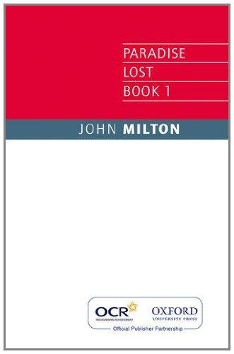 OCR Paradise Lost By John Milton