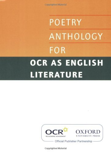OCR GCE Poetry Anthology By Various
