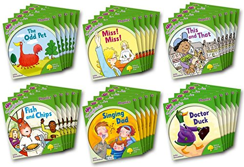 Oxford Reading Tree Songbirds Phonics: Level 2: Class Pack of 36 By Julia Donaldson