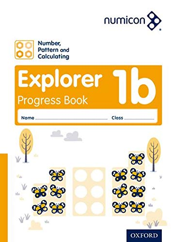 Numicon: Number, Pattern and Calculating 1 Explorer Progress Book B (Pack of 30) By Ruth Atkinson