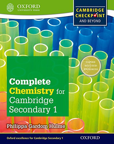 Complete Chemistry for Cambridge Lower Secondary (First Edition) von Philippa Gardom Hulme