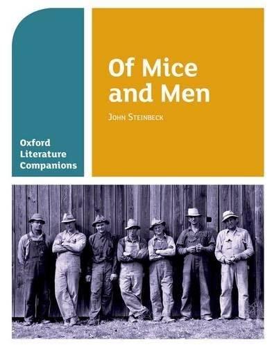 Oxford Literature Companions: Of Mice and Men von Carmel Waldron