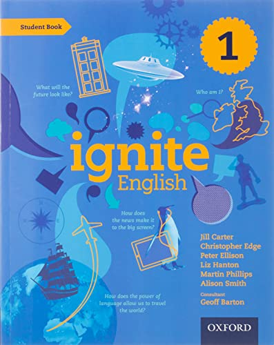 Ignite English: Student Book 1 By Jill Carter
