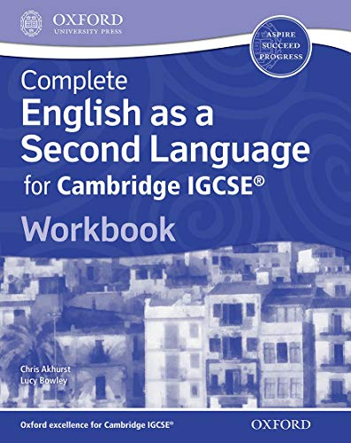 Complete English as a Second Language for Cambridge IGCSE (R): Workbook by Chris Akhurst
