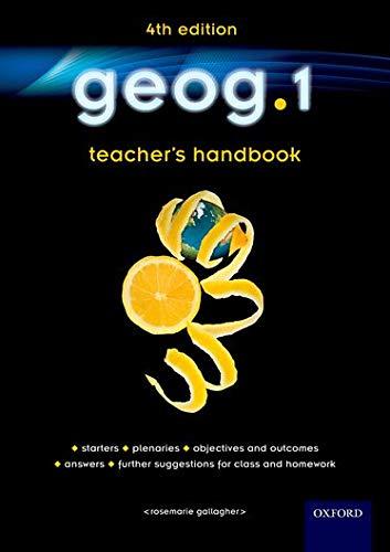 geog.1 Teacher's Handbook By RoseMarie Gallagher