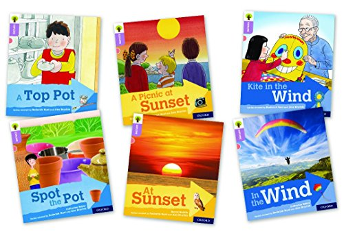 Oxford Reading Tree Explore with Biff, Chip and Kipper: Oxford Level 1+: Mixed Pack of 6 By Roderick Hunt