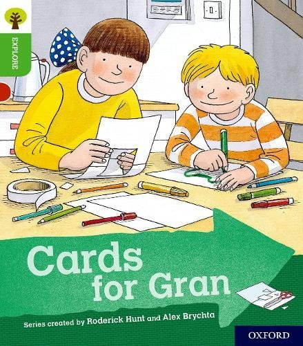 Oxford Reading Tree Explore with Biff, Chip and Kipper: Oxford Level 2: Cards for Gran By Roderick Hunt
