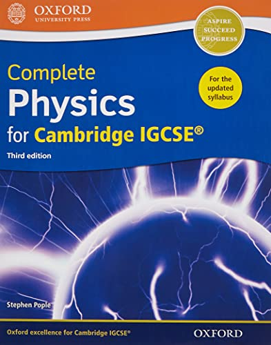 Complete Physics for Cambridge IGCSE (R) By Stephen Pople
