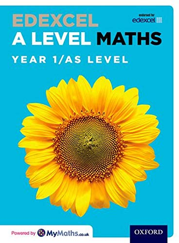 Edexcel A Level Maths: Year 1 / AS Student Book By David Bowles