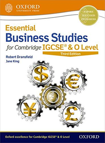 Essential Business Studies for Cambridge IGCSE (R) & O Level By Robert Dransfield