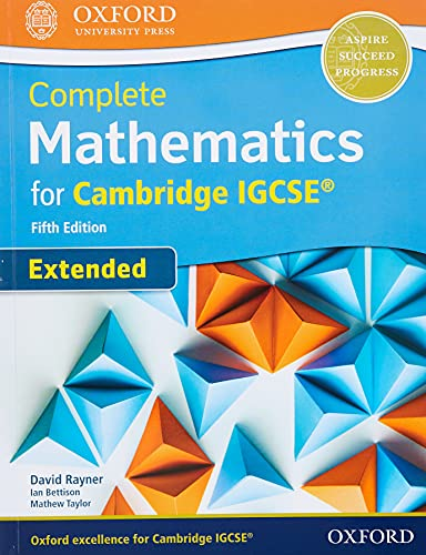 Complete Mathematics for Cambridge IGCSE (R) Student Book (Extended) von David Rayner