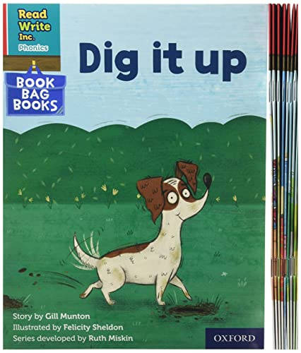 Read Write Inc. Phonics: Red Ditty Book Bag Books Mixed Pack of 10 By Ruth Miskin