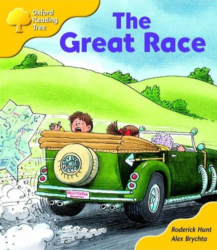 Oxford Reading Tree: Stage 5: More Storybooks (Magic Key): The Great Race: Pack A By Roderick Hunt