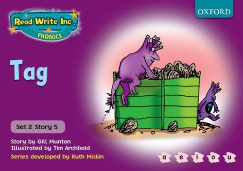 Read Write Inc. Phonics: Purple Set 2 Storybooks: Tag By Gill Munton