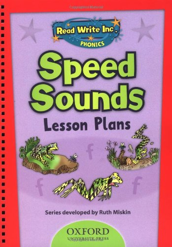 Read Write Inc Phonics Speed Sounds Lesson Plans By Ruth Miskin