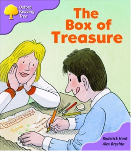Oxford Reading Tree: Stage 1+: More First Sentences B: the Box of Treasure By Roderick Hunt