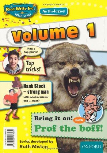 Read Write Inc.: Fresh Start Anthologies: Volume 1 By Ruth Miskin