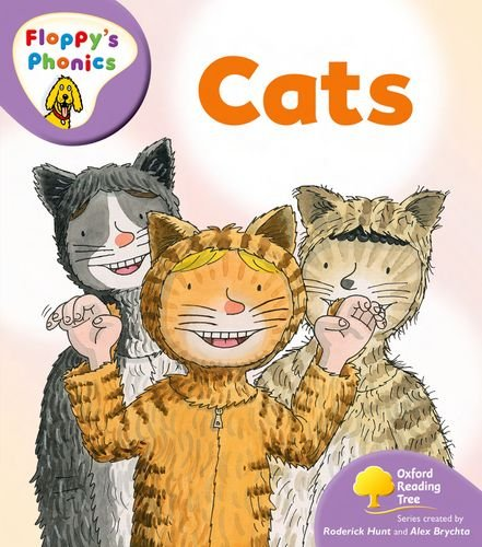 Oxford Reading Tree: Stage 1+: More Floppy's Phonics: Cats By Roderick Hunt