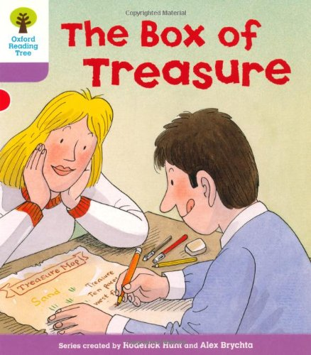 Oxford Reading Tree: Level 1+: More First Sentences B: The Box of Treasure By Roderick Hunt