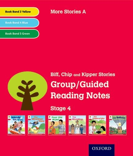 Oxford Reading Tree: Level 4: More Stories A: Group/Guided Reading Notes By Roderick Hunt