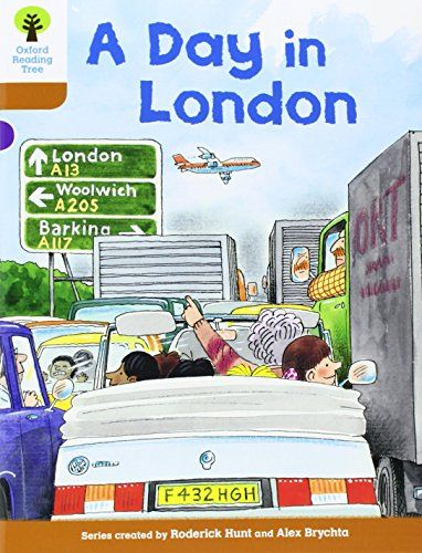 Oxford Reading Tree: Level 8: Stories: A Day in London By Roderick Hunt