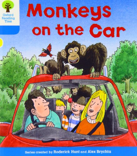 Oxford Reading Tree: Level 3: Decode and Develop: Monkeys on the Car von Roderick Hunt