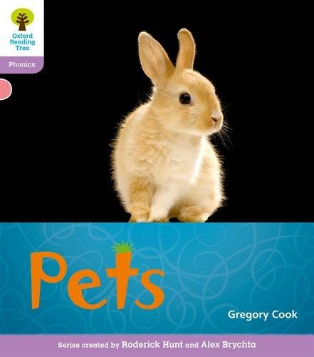 Oxford Reading Tree: Level 1+: Floppy's Phonics Non-Fiction: Pets By Monica Hughes