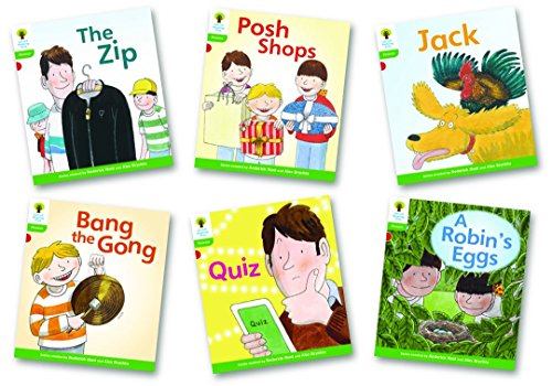 Oxford Reading Tree: Level 2: Floppy's Phonics Fiction: Pack of 6 By Roderick Hunt