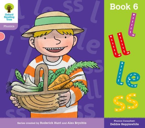 Oxford Reading Tree: Level 1+: Floppy's Phonics: Sounds and Letters: Book 6 By Debbie Hepplewhite