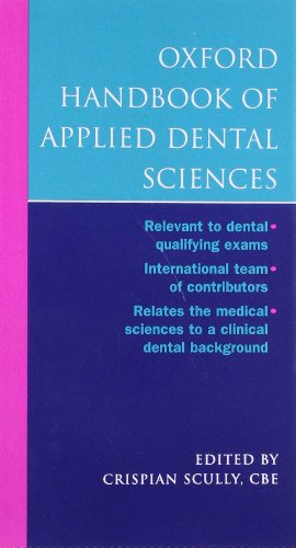 Oxford Handbook of Applied Dental Sciences by Crispian Scully, CBE